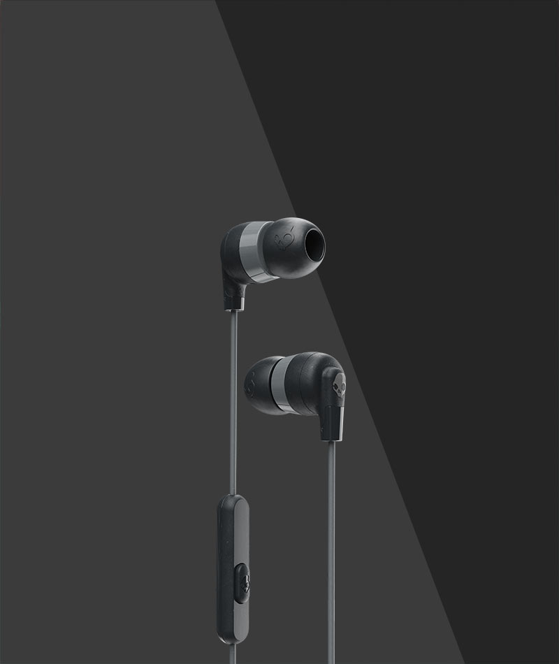 Ink D Earbuds Skullcandy Earphones With Mic Noise Isolating Fit