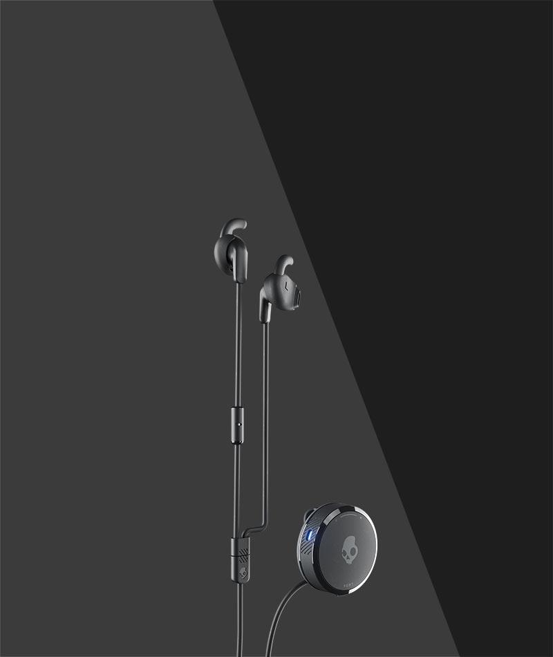 Vert Bluetooth Wireless Earbuds Clip Anywhere Sport Earbuds Skullcandy Com